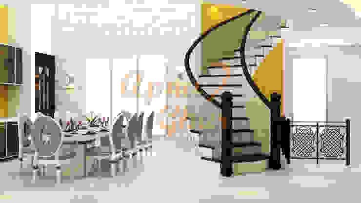 Drawing Room Interior Design Modern dining room by ApnaGhar.co.in Modern