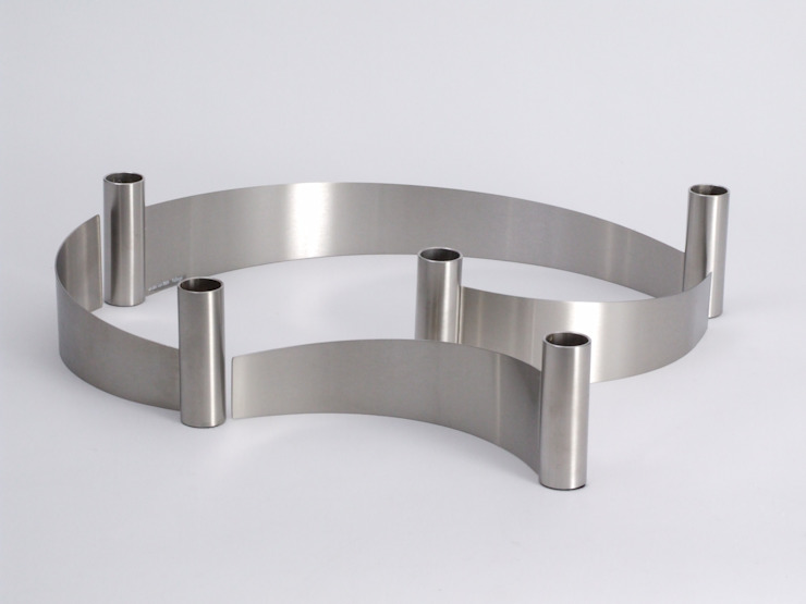 slingerkandelaars: modern  door Studio van Eldik, Modern