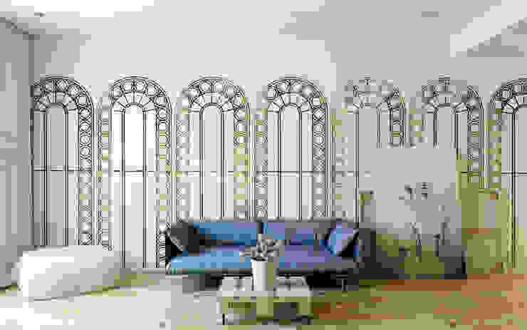 Palladian Metallic Wallpaper by CUSTHOM CUSTHOM Walls & flooringWallpaper