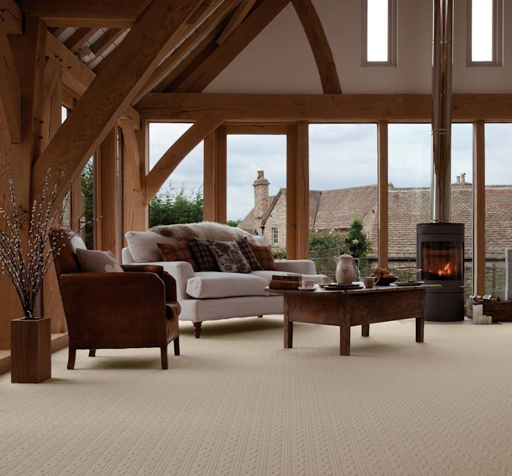 Flock carpets made in 100% Laneve, a premium wool sourced from Wools of New Zealand de Flock Living Rural