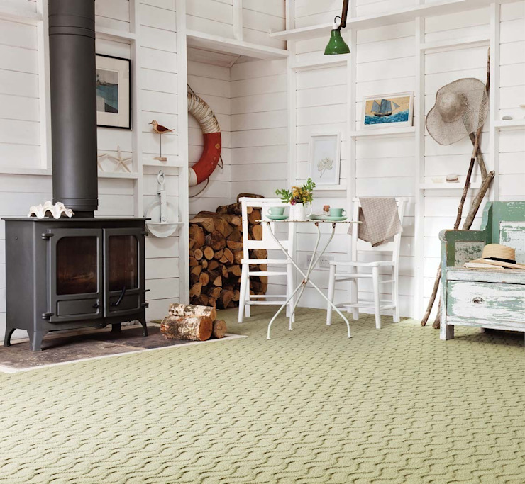 Flock carpets made in 100% Laneve, a premium wool sourced from Wools of New Zealand: modern  by Flock Living, Modern