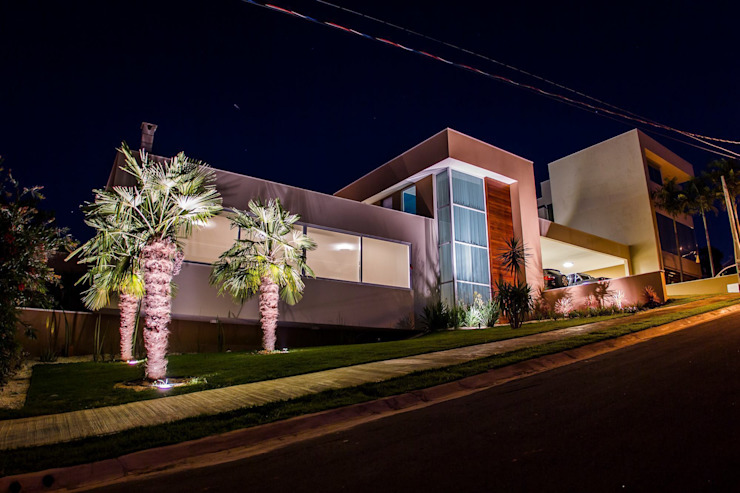 Projeto HP 05 Casas modernas por HAUS Moderno