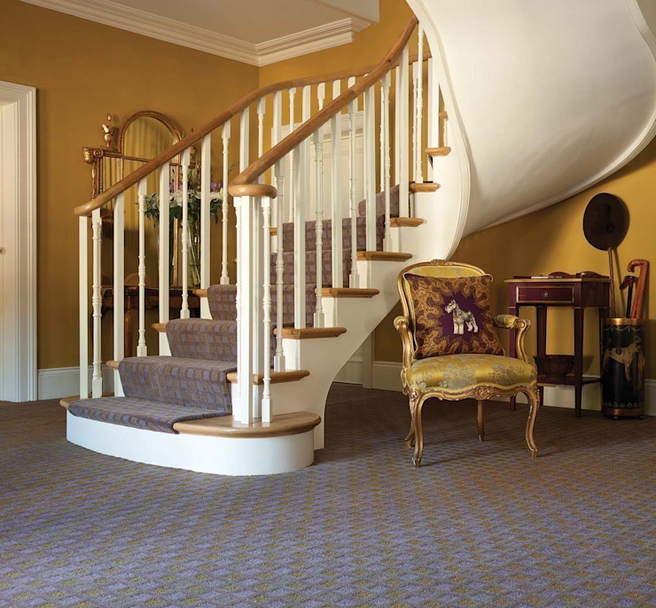 Flock carpets made in 100% Laneve, a premium wool sourced from Wools of New Zealand di Flock Living Moderno