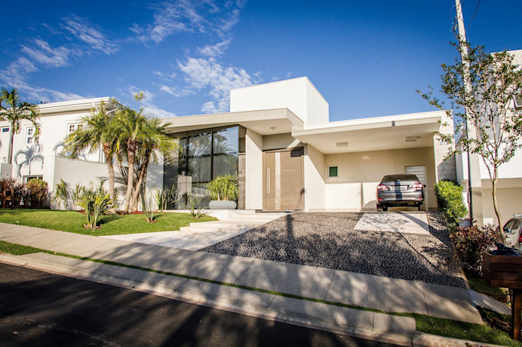 Projeto HP 03 Casas modernas por HAUS Moderno