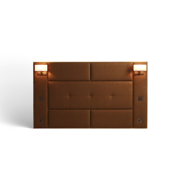Upholstered Headboard: modern  by Mille Couleurs London, Modern
