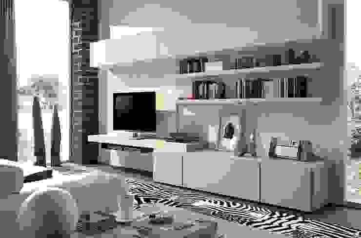 Living room by Muebles Madrid decoración,