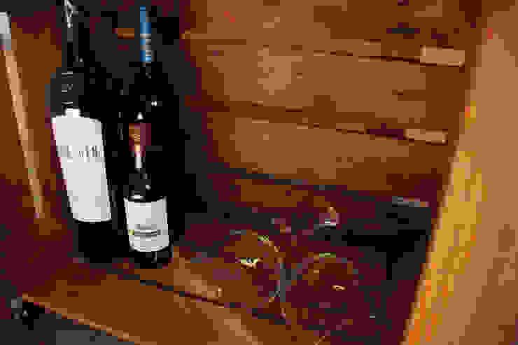 ABEDUL mesa cajas de fruta de ECOdECO Mobiliario Rústico