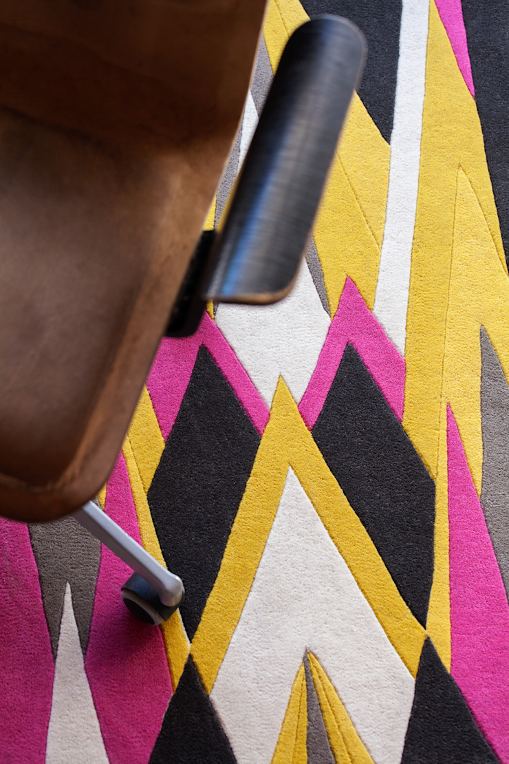Wendy Morrison Diamond Deco rug: modern  by Wendy Morrison, Modern