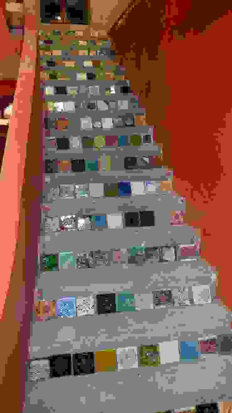 realizacje artkafle Industrialny korytarz, przedpokój i schody od artkafle Industrialny
