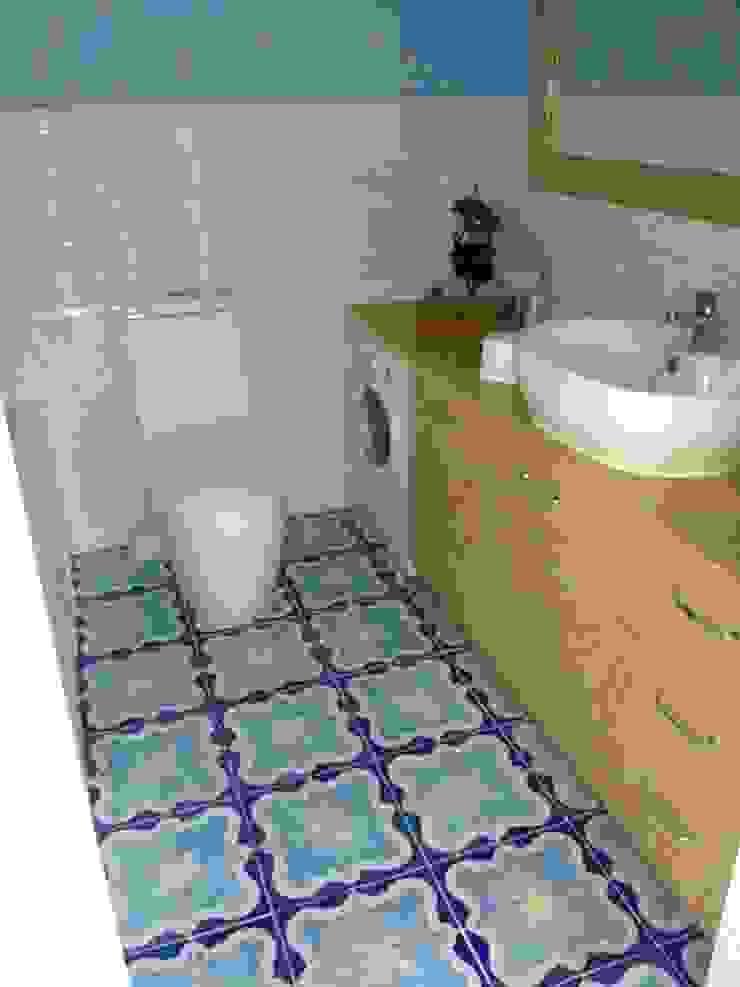 realizacje artkafle Śródziemnomorska łazienka od artkafle Śródziemnomorski