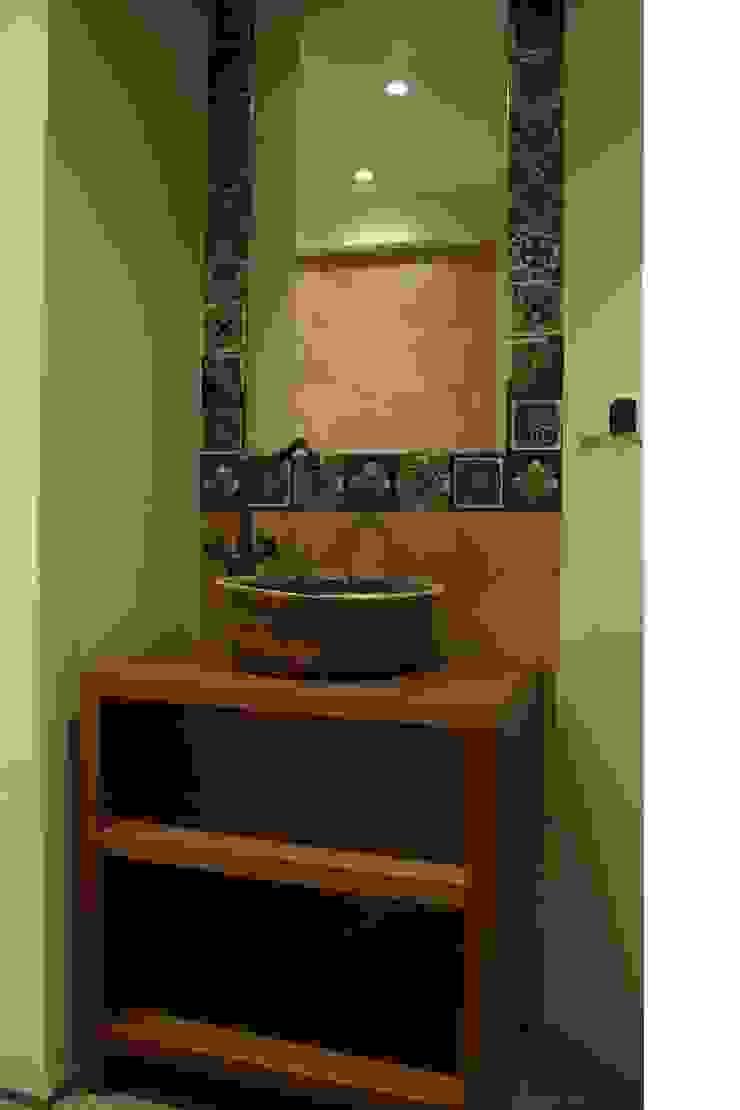 realizacje artkafle Rustykalna łazienka od artkafle Rustykalny