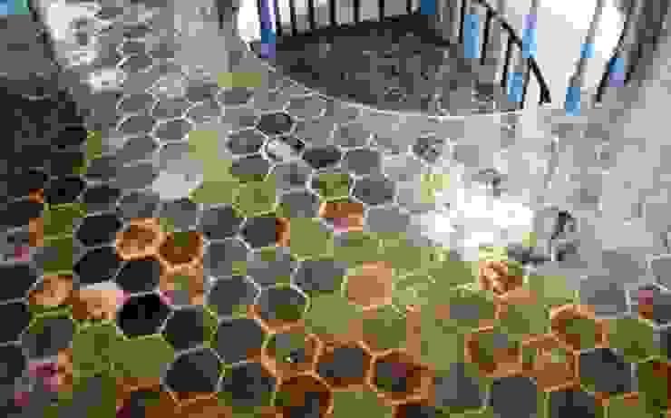 realizacje artkafle Rustykalny korytarz, przedpokój i schody od artkafle Rustykalny