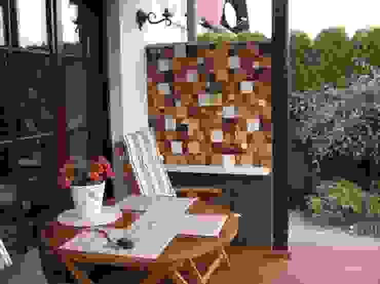 realizacje artkafle Wiejski balkon, taras i weranda od artkafle Wiejski