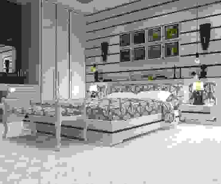 GN İÇ MİMARLIK OFİSİ – Modern Yatak Odası : modern tarz , Modern