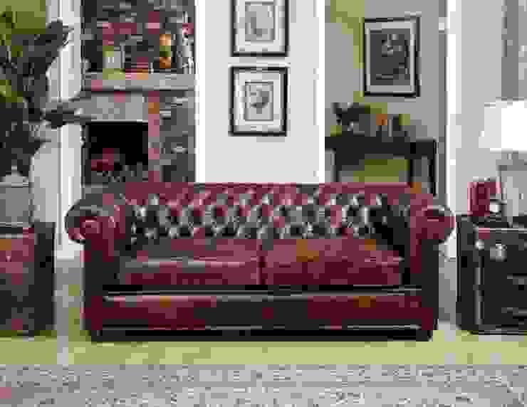 Choosing Full-grain Leather for Sofa: classic  by Locus Habitat,Classic
