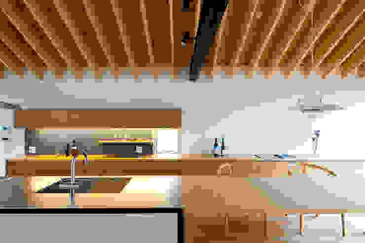 望月建築アトリエ ห้องครัว