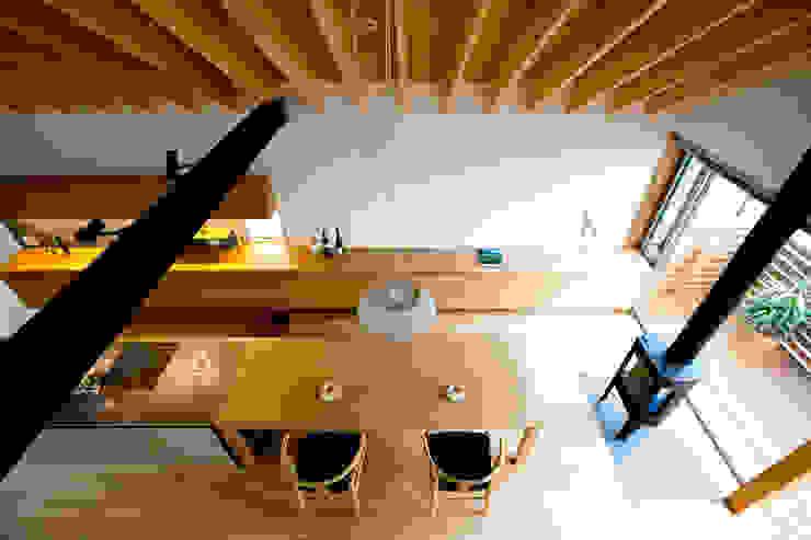 望月建築アトリエ Asian style dining room
