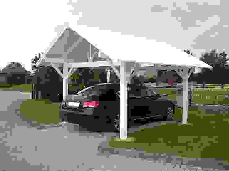 Ogrodzenia PCV Garajes de estilo clásico