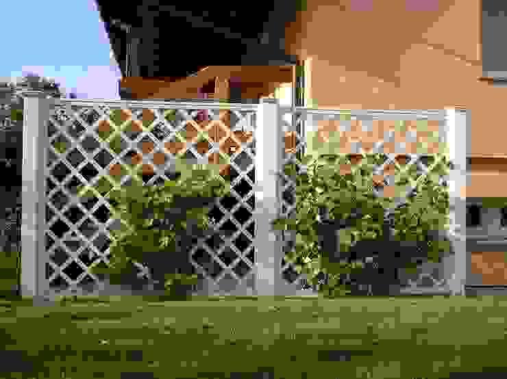 Jardins clássicos por Ogrodzenia PCV Clássico
