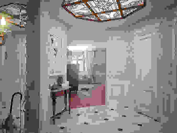 Classic style corridor, hallway and stairs by премиум интериум Classic