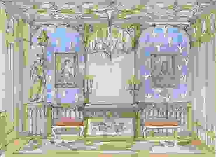Эскиз прихожей от Студия Анны Куликовой и Павла Миронова