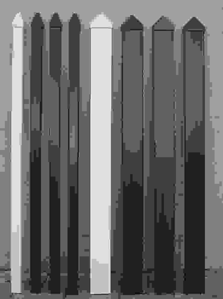 Dostępne kolory Klasyczny ogród od Ogrodzenia PCV Klasyczny