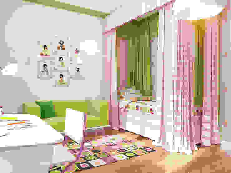 Детская Детские комната в эклектичном стиле от Осташкина Галина Эклектичный
