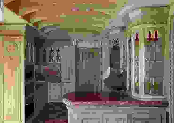 Кухня:  в современный. Автор – Студия Анны Куликовой и Павла Миронова, Модерн