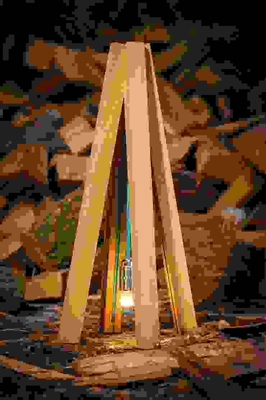 Tipi tafel lamp : modern  door DesignStudioVandaag, Modern