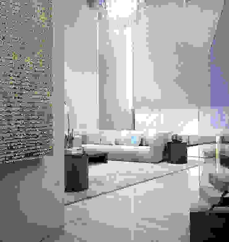 Bowmont Residence, LA, USA Гостиные в эклектичном стиле от Anton Neumark Эклектичный
