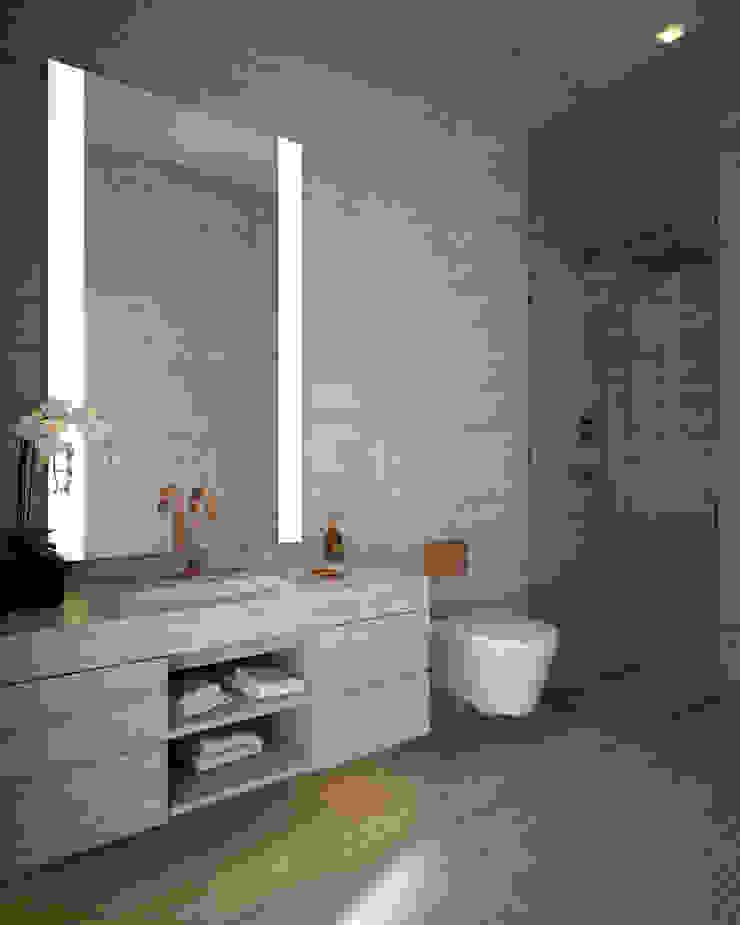 Bowmont Residence, LA, USA Ванная комната в эклектичном стиле от Anton Neumark Эклектичный