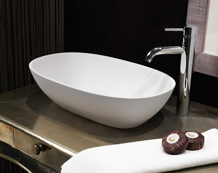 Dawn Stone Basin Waters Baths of Ashbourne BathroomSinks