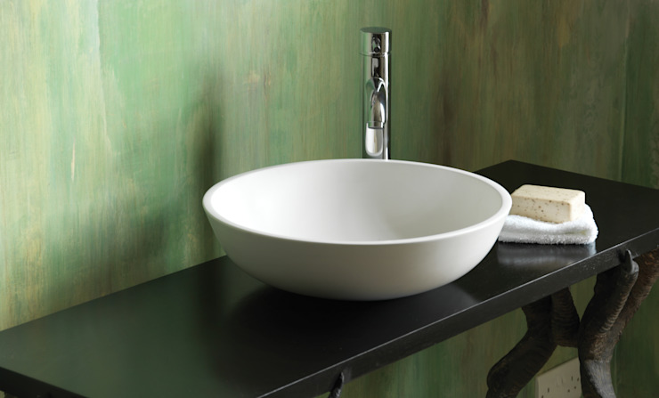 MIst Stone Basin Waters Baths of Ashbourne BathroomSinks