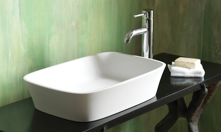 Haze Stone Basin Waters Baths of Ashbourne BathroomSinks