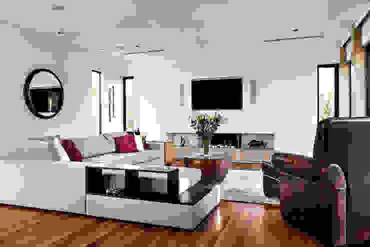 Floreat Residence Salas de estar modernas por Moda Interiors Moderno