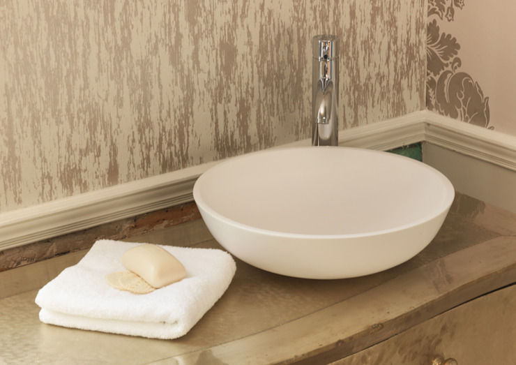 Luna Stone Basin Waters Baths of Ashbourne BathroomSinks
