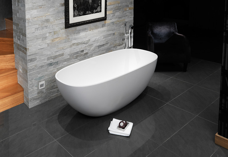 Dawn Stone Bath de Waters Baths of Ashbourne Moderno