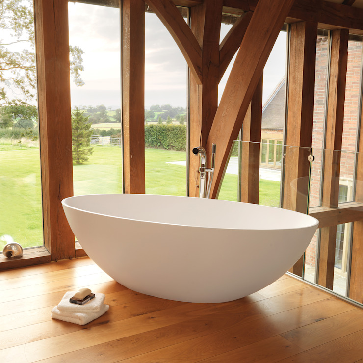 Ellipse Stone Bath de Waters Baths of Ashbourne Moderno