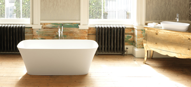 Haze Stone Bath de Waters Baths of Ashbourne Moderno