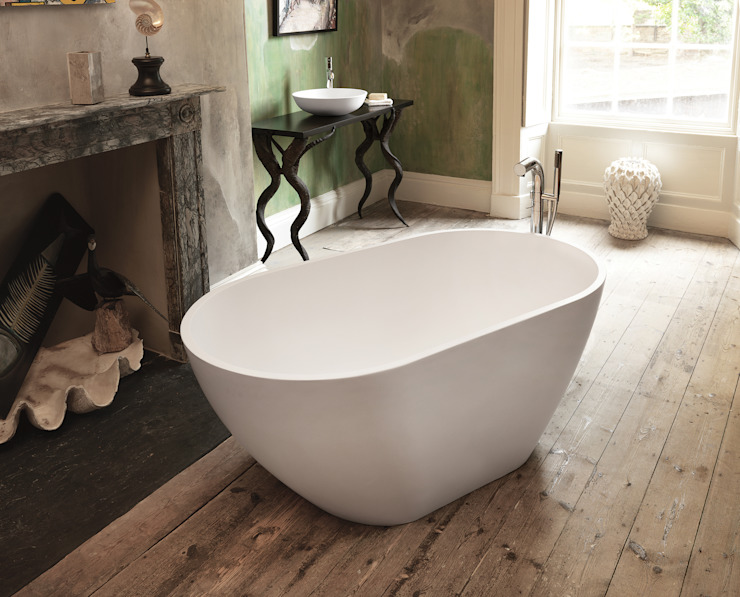 Mist Stone Bath de Waters Baths of Ashbourne Moderno