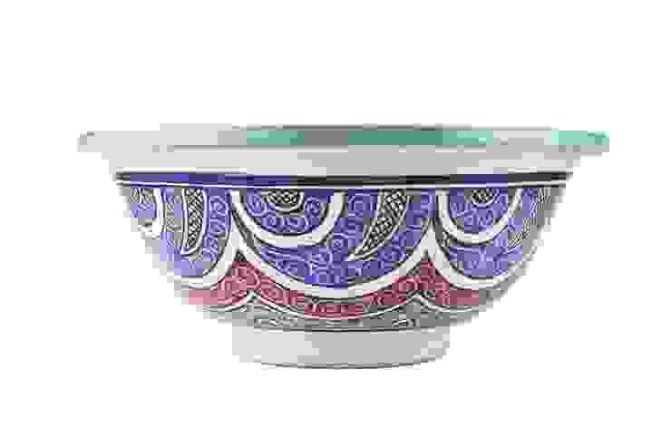 Aisa - Designerska umywalka z Maroko II od Kolory Maroka Egzotyczny