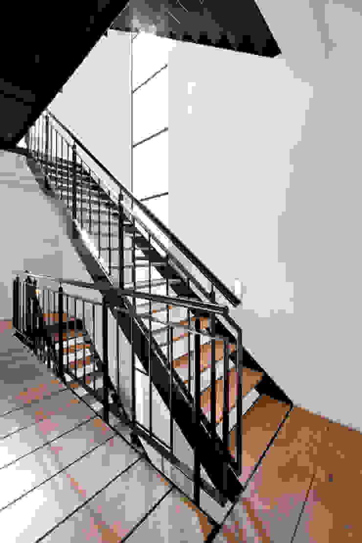 Vernieuwbouw grachtenpand Moderne gangen, hallen & trappenhuizen van Kodde Architecten bna Modern