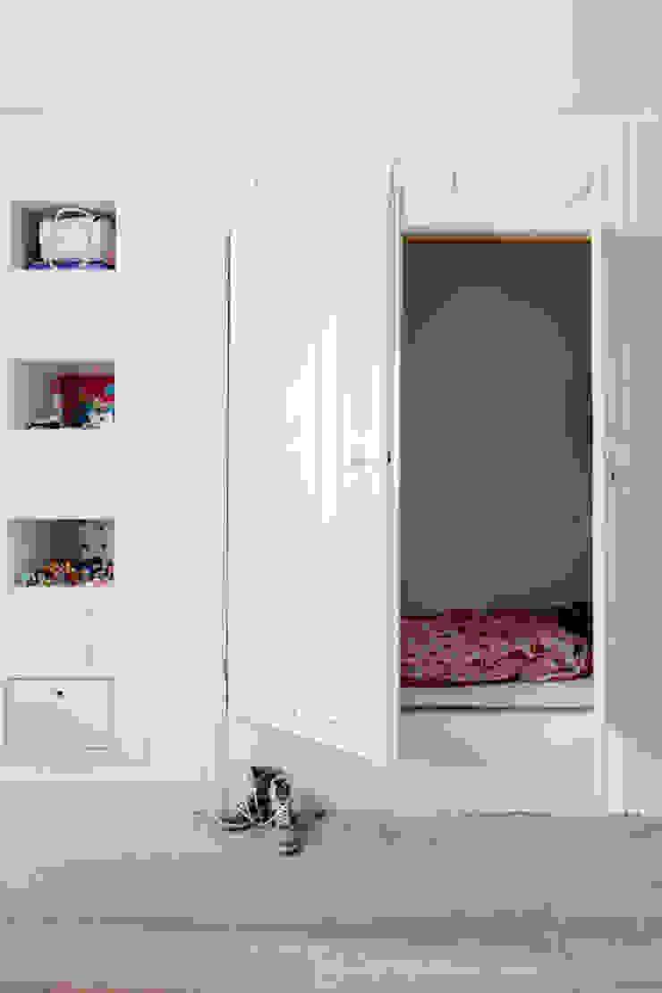 Vernieuwbouw grachtenpand Rustieke kinderkamers van Kodde Architecten bna Rustiek & Brocante