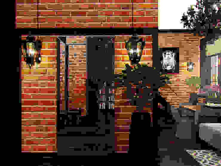 Квартира в стиле LOFT в Москве Коридор, прихожая и лестница в стиле лофт от Anna Vladimirova Лофт