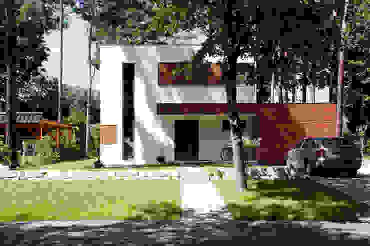 Einfamilienhaus Zieglschmid Moderne Häuser von steffen janke architekt Modern