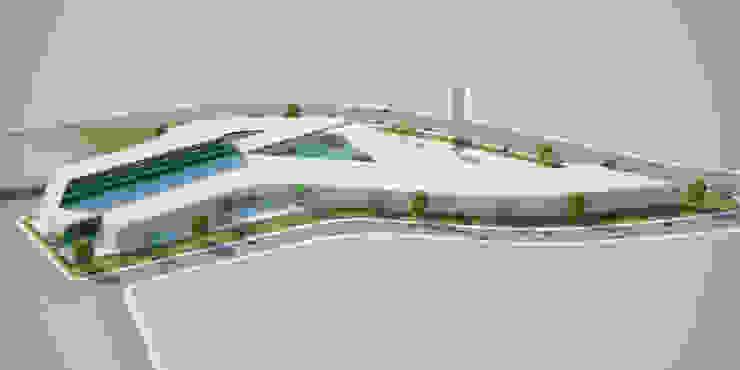 Manisa AVM yağcıoğlu mimarlık Modern