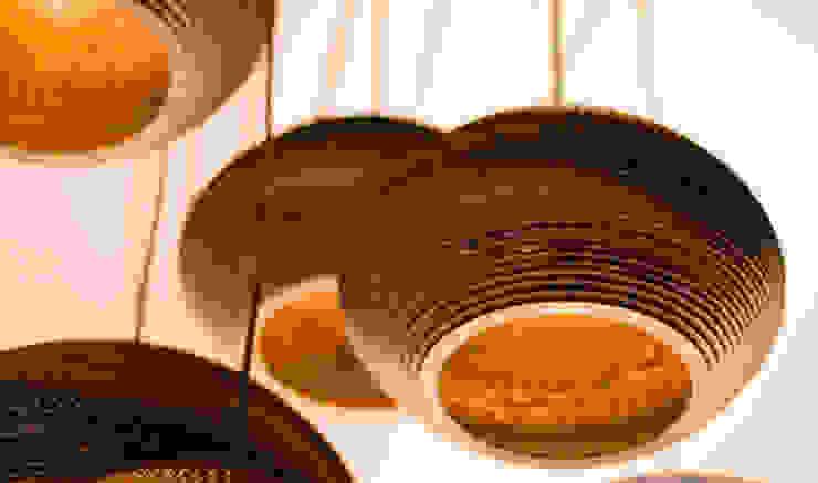 Cardboard Disc Pendant Light by Greypants par Little Mill House Classique