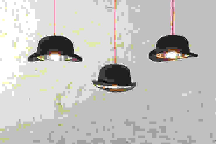 'Charles' Bowler hat pendant light par Little Mill House Éclectique