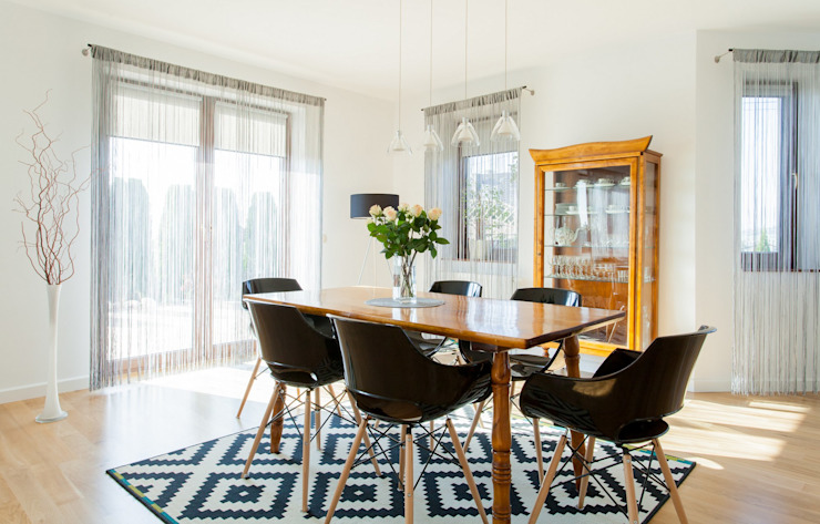 Eclectic style dining room by Sceny Domowe Eclectic
