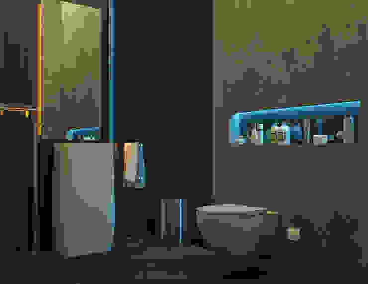 Дизайн стоматологической клиники в Баку Ванная комната в стиле модерн от ILKIN GURBANOV Studio Модерн